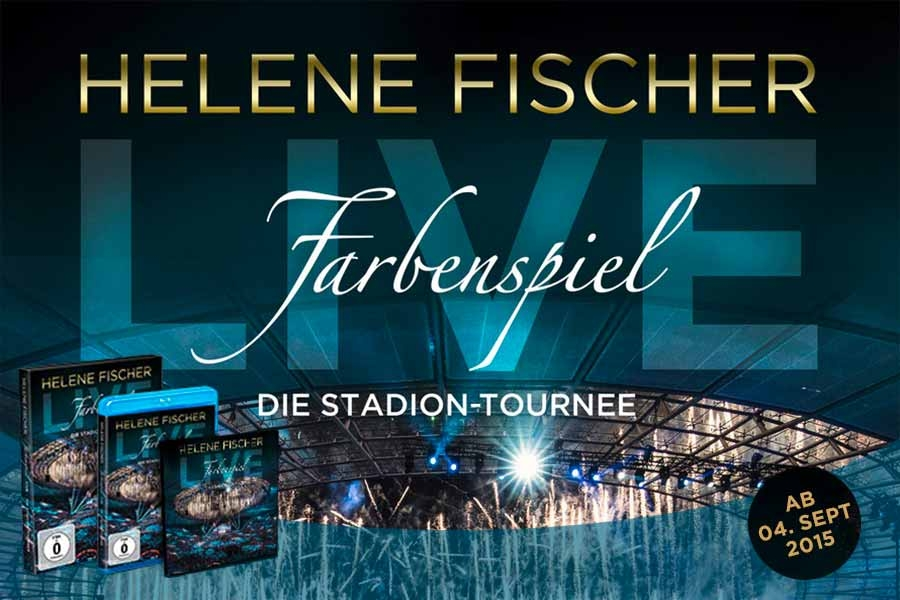 helene fischer farbenspiel stadion tournee 2015. Black Bedroom Furniture Sets. Home Design Ideas